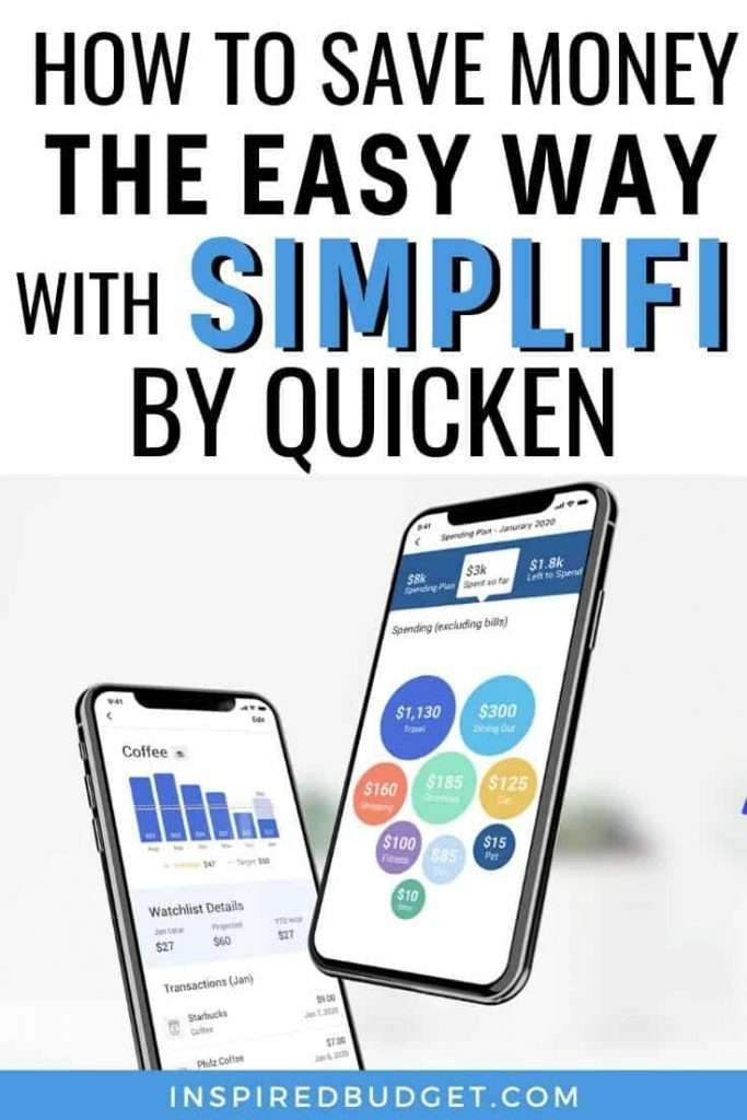 How To Save Money Using Simplifi by Quicken