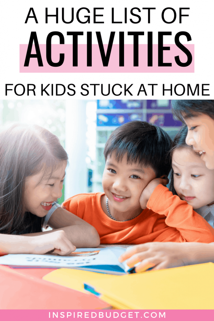 Free Activities For Kids At Home