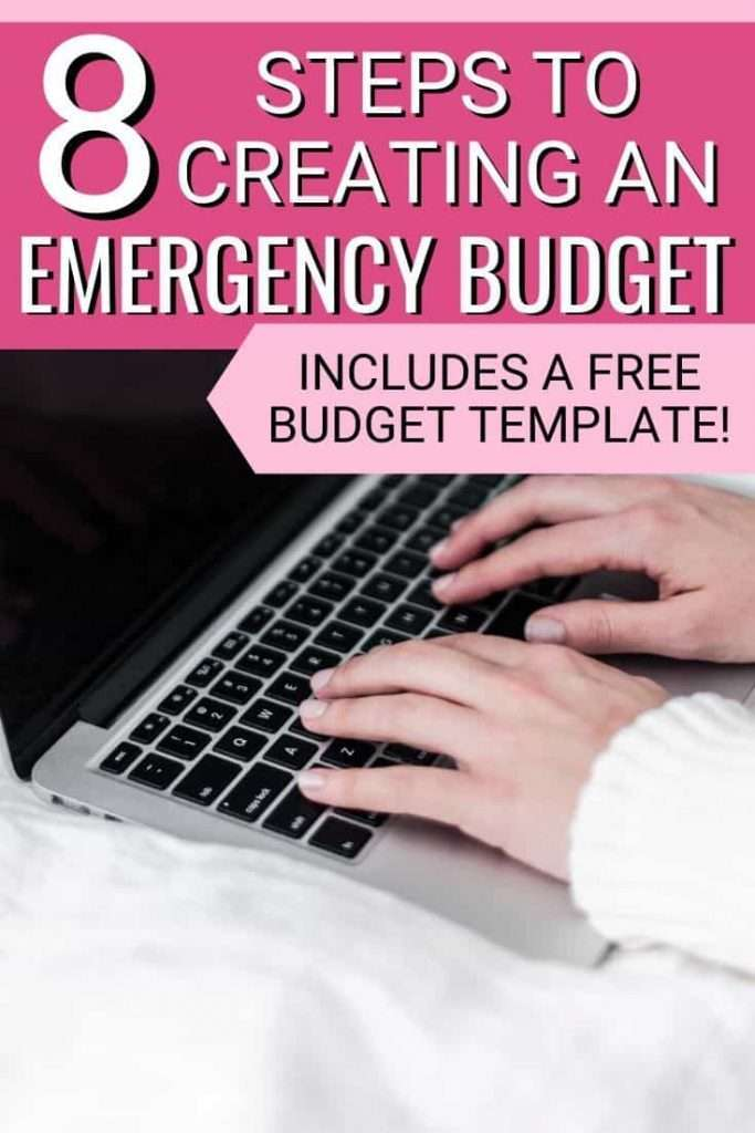 Facing an emergency or job layoff? It's a great idea to create an emergency budget to help you save money during uncertain times.
