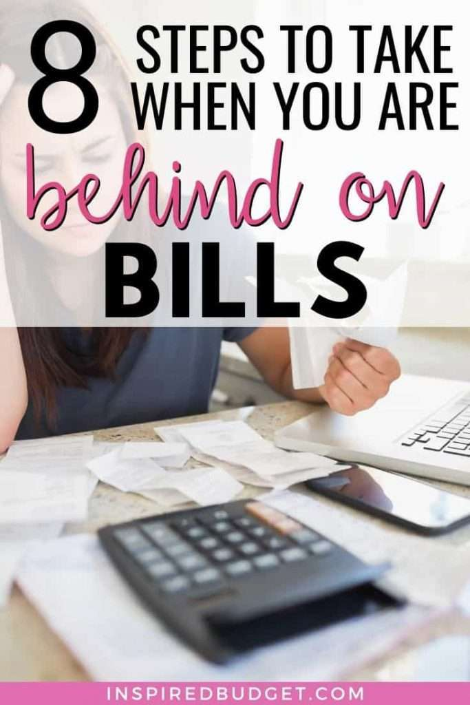 Learn the exact steps you can take to catch up on bills quickly. Includes a free printable and a script for what to say when you call bill companies.