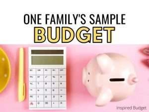 Get a peak into this real family's budget. This sample budget will inspire you to create your own! Perfect for anyone that is new to budgeting or a budget beginner!