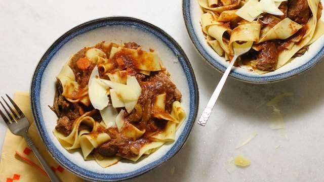 Crock Pot Beef Ragu
