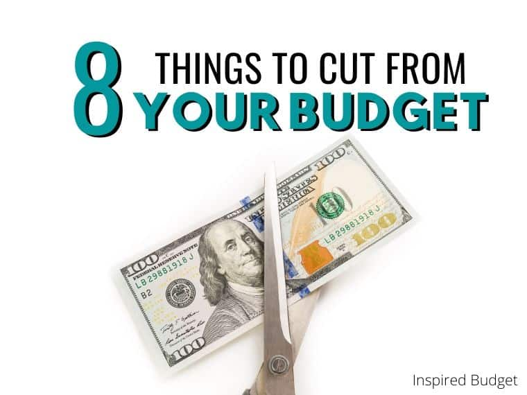 8 Things to cut from your budget to save hundreds