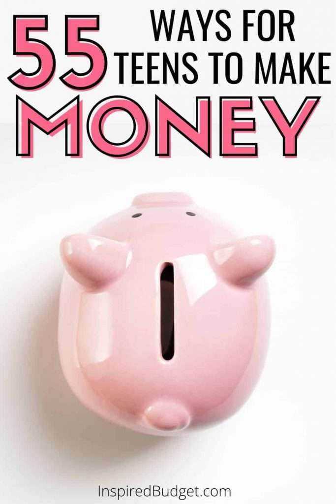 Need ideas for your teen to make money? Check out this complete list of 55 ways that any teenager can earn money!