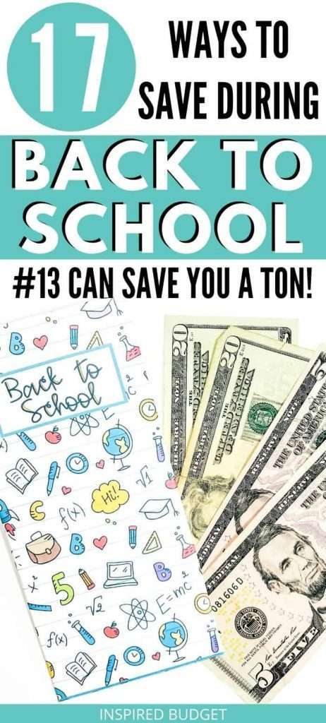 17 ways to save money on back to school supplies