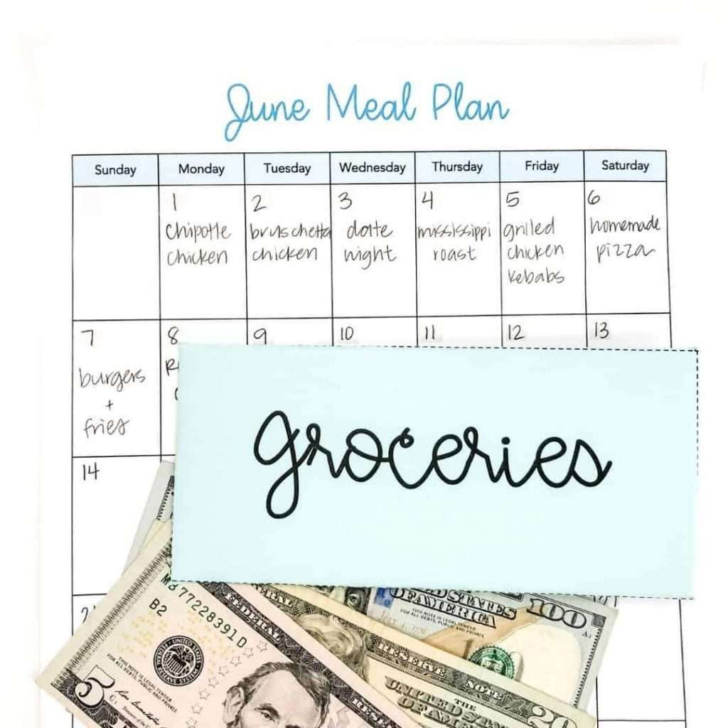 How to meal plan on a budget by Inspired Budget