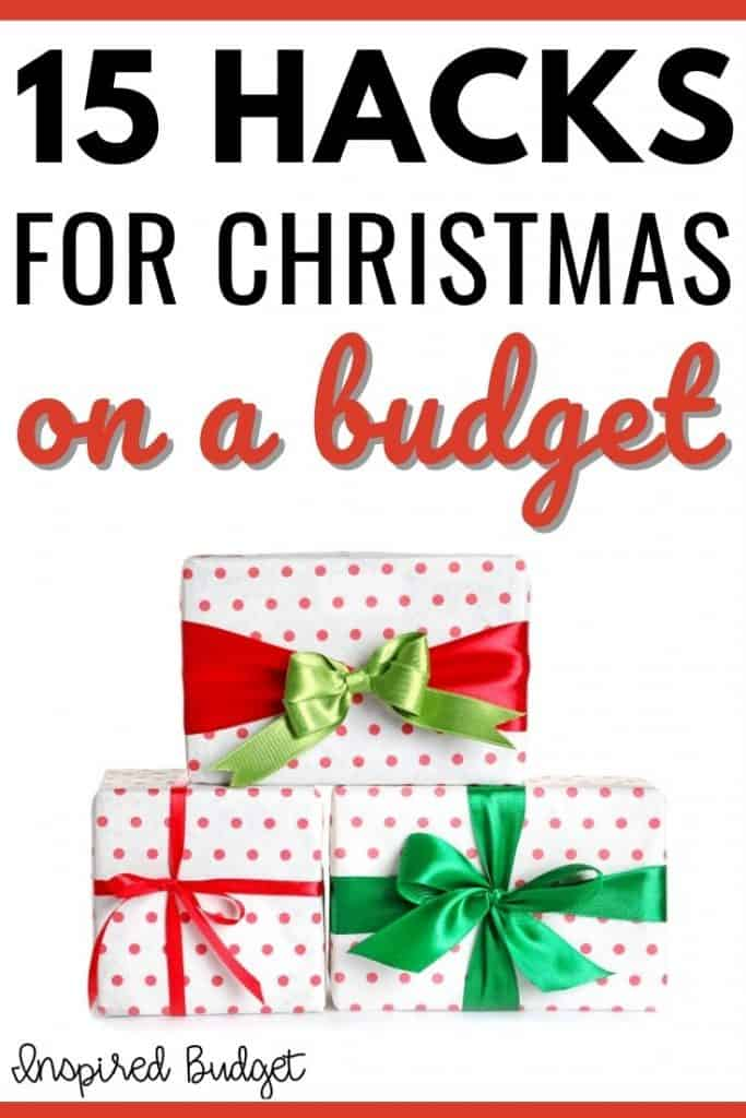 Christmas gifts on a budget - ideas and hacks