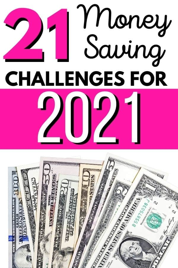 21 savings challenges for 2021