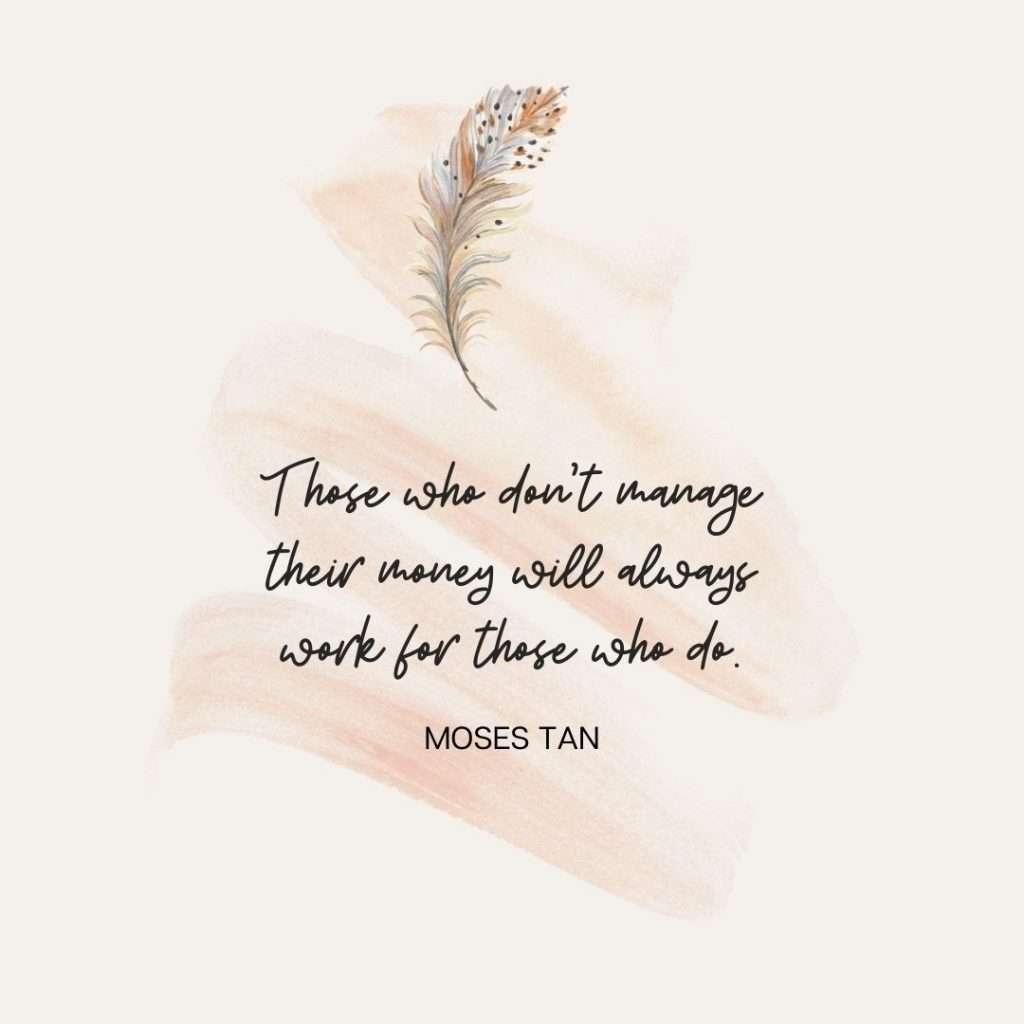 manage money quote