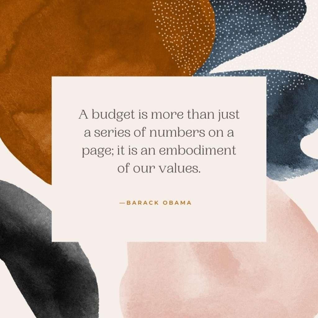 Budget Quote Barack Obama