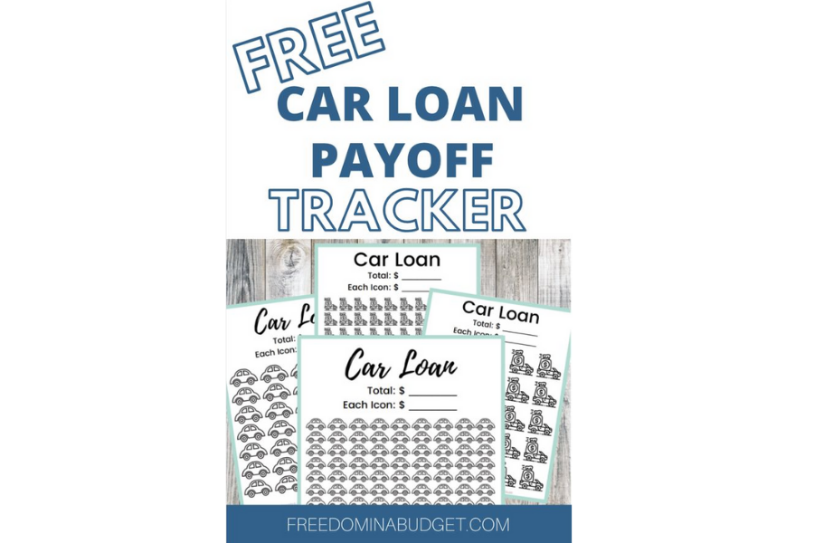 Car Loan Payoff Trackers
