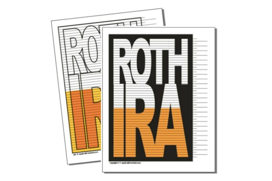 Roth IRA Savings Tracker