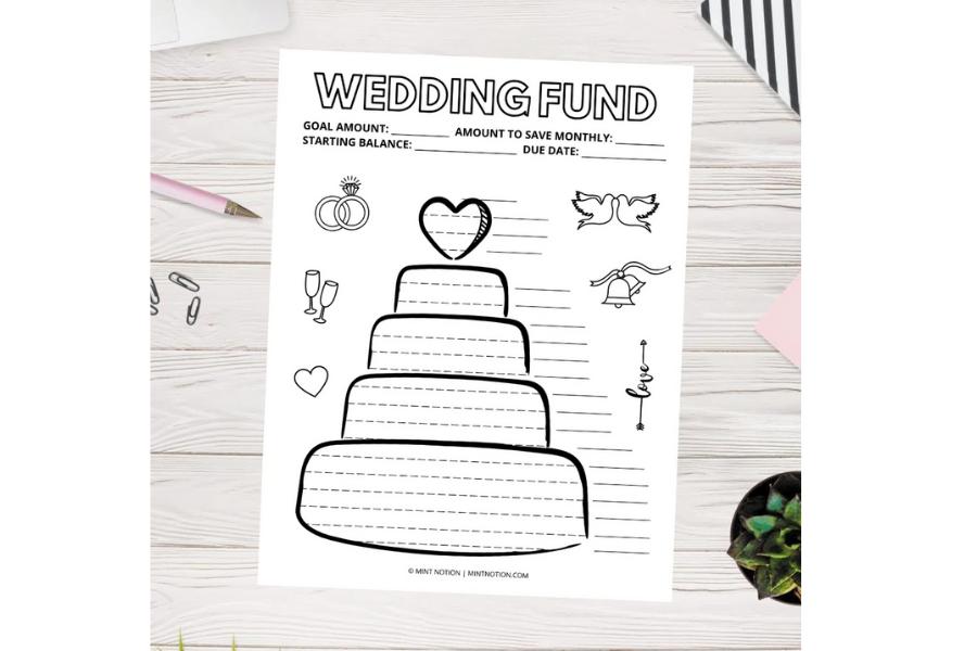 Wedding Savings Tracker