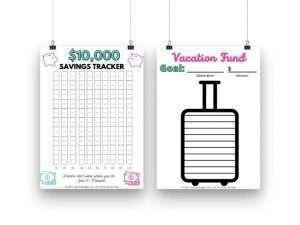 money savings charts