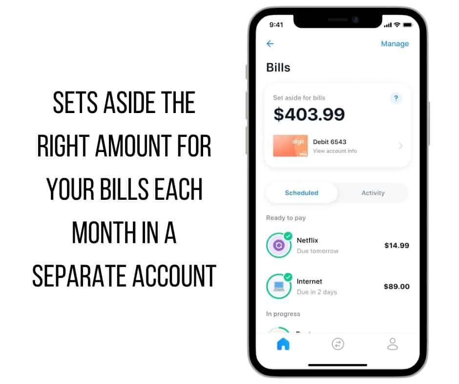 Digit Direct by MetaBank® Bills