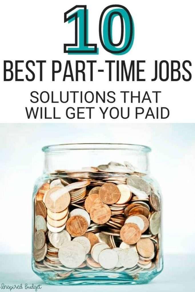 10 best part time jobs